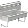 PALUXY 48 INCH TROUGH URINAL W/FLUSH PIPE