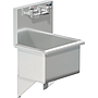 18 X 14 SERVICE SINK W / WALL FAUCET