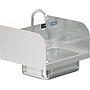 COMAL 14 x 10 x 5 HANDSINK WITH DECK FAUCET END SPLASH BOTH SIDES