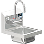 COMAL 9 x 9 x 5 HANDSINK SPACE SAVER WITH WALL FAUCET