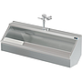 PALUXY 60 INCH TROUGH URINAL W/FLUSH VALVE
