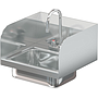 COMAL 14 X 10 X 5 HANDSINK WITH DECK FAUCET END SPLASH LEFT AND RIGHT