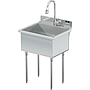 UTILITY SINK 24 X 18 W / PULL DOWN SPRAYER