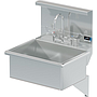 BLANCO 22 X 16 SCRUB UP SINK DECK W / WRIST BLADE HANDLES / SHELF